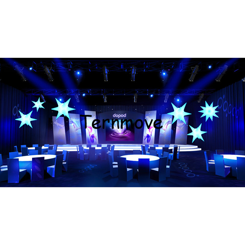 inflatable star with LED light2