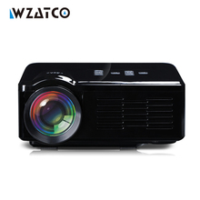 WZATCO BL-35 1000Lumens LCD LED HD Video 3D Home Theater Mini TV DVD game Projector Proyector Beamer Projetor factory wholesale(China)