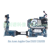 MBSDF02001 MB.SDF02.001 Laptop motherboard For Acer aspire one D255 D255E Main board  Atom N450 1.6GHz PAV70 LA-6221P