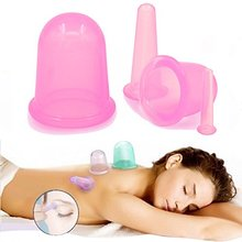 Anti Cellulite Skin and Muscle Toning Silicone Vacuum Massage Cups Body and Facial Ventous Cellulite Cupping Therapy Beauty Care