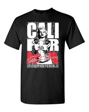 Interesting Pictures Personality Marilyn Monroe T-Shirt California Republic Bear Shirts Interesting Pictures Breathable