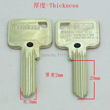 A229 Wholesale Locksmith Keymaster Brass House Home Door Blank Empty Key Blanks Keys