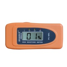 New MD816 Mini 2Pins LCD Wood Bamboo Cotton Moisture Meter Tester Timber Damp Detector