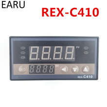 Digital PID Temperature Temp Controller REX-C410 48*96mm Horizontal, Input thermocouple K,PT100,J Relay Output for heat(China)