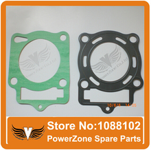 LONCIN CB250 Water Cooled Cooling Engine Cylinder Head Gasket With Plastic Seal  Fit 250cc Dirt Bike ATV Quad Free Shipping