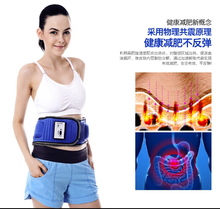 High quality Lose weight belt body massager crazy fit massage infrared ray Fat burn machine body slimmer slim hip waist(China)