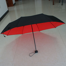 Hot sale design painting sun rain Umbrella manual 3 Fold Anti UV fashion Original Holder durable beauty fancy color exquisite XM(China)