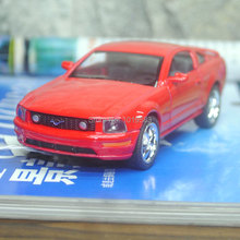 (10pcs/pack) Wholesale Brand New KT 1/38 Scale Car Model Toys 2006 FORD MUSTANG GT Diecast Metal Pull Back Car Toy