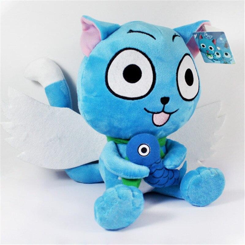 Fairy Tail  Plush Toys Figure Happy Cat <br><br>Aliexpress