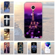 Landscape Animal Pattern Case Cover for Meizu MX5 M575M M575U 5.5 inch Soft Silicone Cell Phone Case Cover for Meizu MX5 MX 5