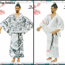 "001/002 2 Styles Doll's Dream 1/6 Male Action Figure Japanese Kimono Bathrobe Suitable Fit 12"" Phicen HT Toys/TTL Doll Gift"