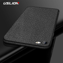 Buy USLION Luxury PU Leather Phone Case iPhone 8 7 Plus Litchi Texture Soft TPU Cover Cases Capa iPhone X 6 6s Plus 5 5s SE for $1.19 in AliExpress store