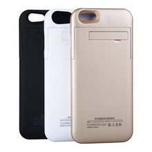 4800mAh portable Rechargeable Backup External Battery Pack Charger Power Bank Case stand Cover for iphone 6 6s plus