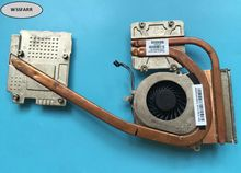 Genuine Laptop CPU Heatsink& Fan for HP EliteBook 8570 8570W Notebook 690628-001 690630-001 460203100-600-G CPU Radiator