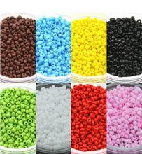 LINSOIR 1500Pcs/lot 2mm Round Crystal Czech Glass Seed Beads Loose Spacer Beads For DIY Jewelry Making Findings Materials F1912(China)