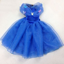 2017om Europe and the United States the new girl Cinderella Dress 4 to 10 years old Christmas dress clothing(China)