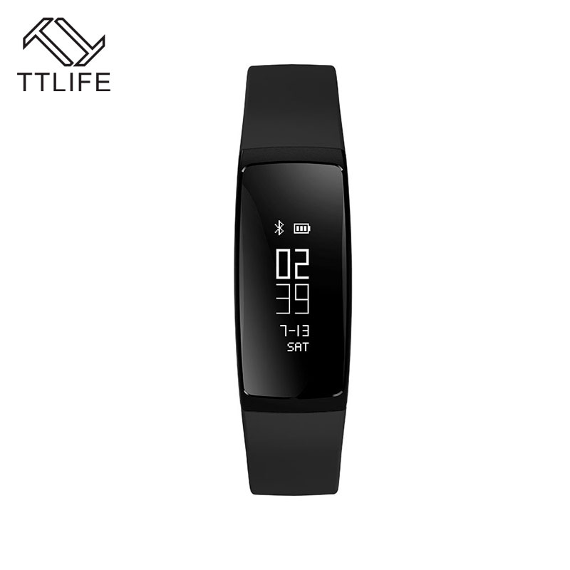 TTLIFE V07 Smart Band Blood Pressure Bracelet Heart Rate Fitness Tracker Pedometer Bluetooth 4.0 Wristband Watch For iOS Android<br><br>Aliexpress