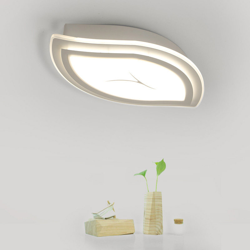 Modern Ceiling Lights Acrylic Led Lamp Living Room Kitchen Bedroom Stair Decor Indoor Home Lighting White Iron AC 110-220V<br><br>Aliexpress