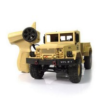 1/16 Military RC Truck 2.4G Four Wheel WPLB-14 Off Road Vehicle Remote Simulation Of Military Vehicle Climbing Toy Car Dirt Bike(China)