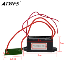 ATWFS New Arrival Portable Ozone Generator 12V/220V/110V 200mg Ceramic DIY for Water Air Plate Cleaner Car Ozone Generator