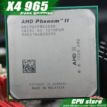 AMD Phenom II X4 965 CPU Processor Quad-Core (3.4Ghz/6M /125W ) Socket AM3 AM2+ 938 pin (working 100% Free Shipping) sell 955(China)
