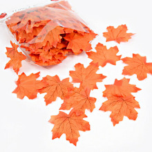 100pcs Assorted Rich Fall Colored Artificial leaves party Fashion Wedding Silk Artificial simulation Multi-use Maple