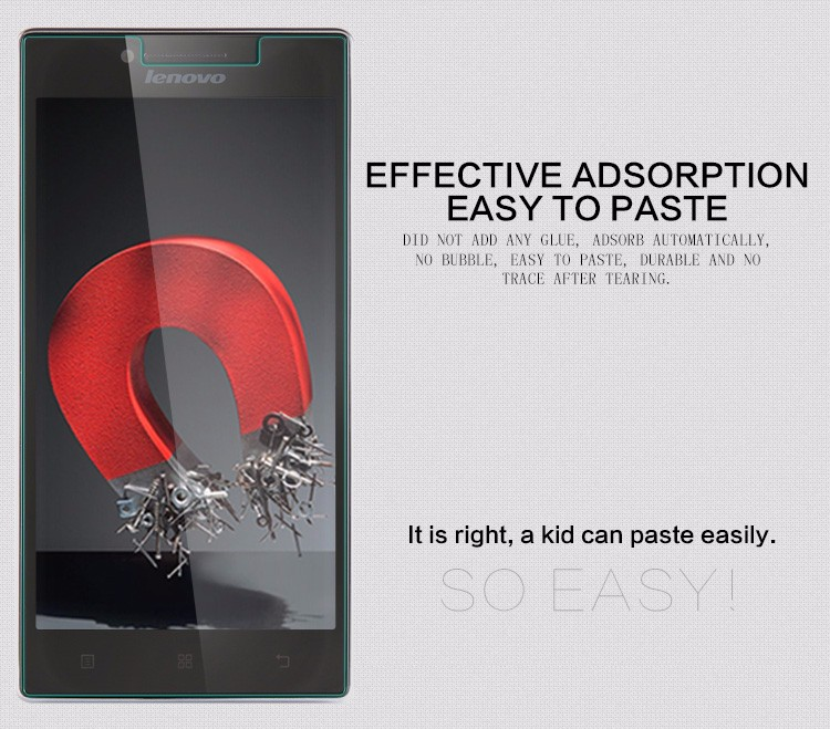 DREAMYSOW For Lenovo S580 Vibe Shot Z90 S60 S90 A2010 X2 K6 A916 9H 0.3mm Ultra Thin Tempered Glass Screen Protector Cover