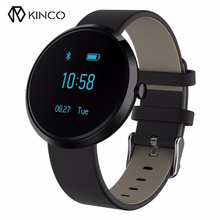 KINCO Waterproof 0.95 Inch OLED Bracelet Screen Alcohol Allergy Test Blood Pressure Intelligent Sleep Monitor Health Smart Watch(China)