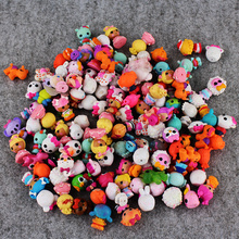 Free Shipping 2-3cm Random 56Pcs/lot Pet Shop Lalaloopsy Figures Toys Doll Kid Gift