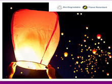 Diamond shape11pcs/lot Chinese wishing sky lanterns flying kongming lantern party/wedding decoration 8 colors free shipping(China)