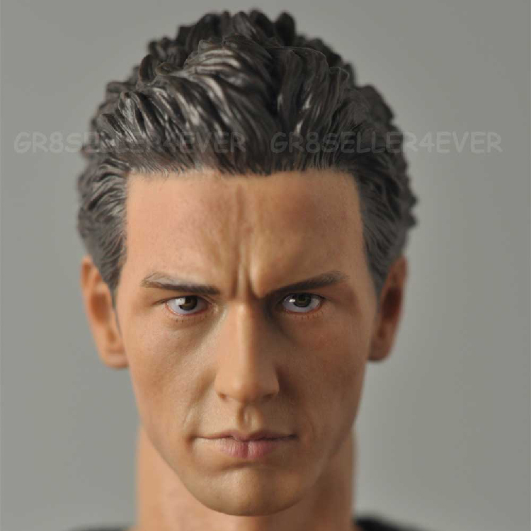 1/6 male Head Sculpt  for 12 Action Figure body  soldier head model toy Spider-Man Green Magic James Franco James Frank<br>