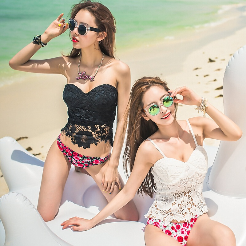 2017 Brand New Womens Swimwear Sexy Bikinis Set Swimsuit  Summer Style Print Two Piece Swimsuit For Women sexy lace biquini Girl<br><br>Aliexpress