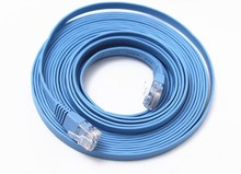 Six Gigabit copper flat cable computer network cable broadband cable 30 meters 1/2/3/5/10/15/20 shipping