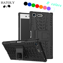 HATOLY For Cover Sony Xperia XZ Premium Case Hard Rubber Silicon Phone Case for Sony Xperia XZ Premium Cover for Sony XZ Premium