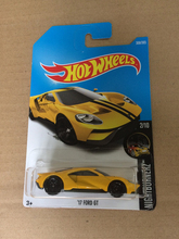 2017 N Hot Wheels 1:64 Orange 17th Ford GT Metal Diecast Cars Collection Kids Toys Vehicle For Children Juguetes
