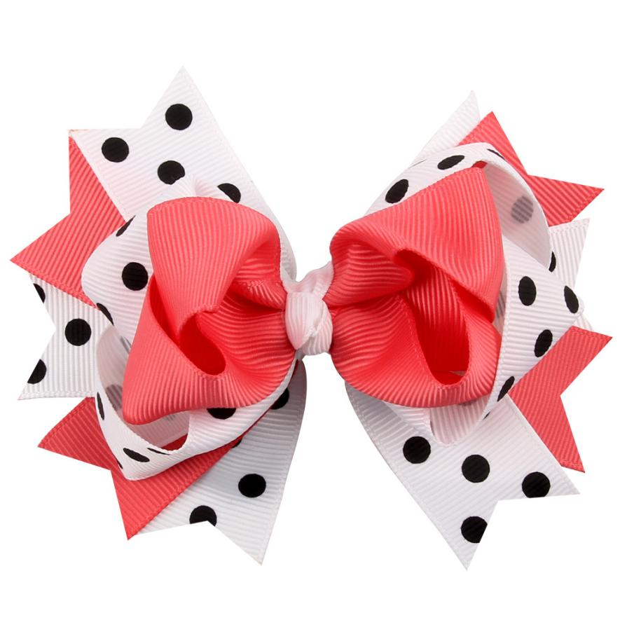 Kids Hair Clips Dot Bow Hairband Turban Knot Tiaras E Acessorios De Cabelo Infantil #2458<br><br>Aliexpress