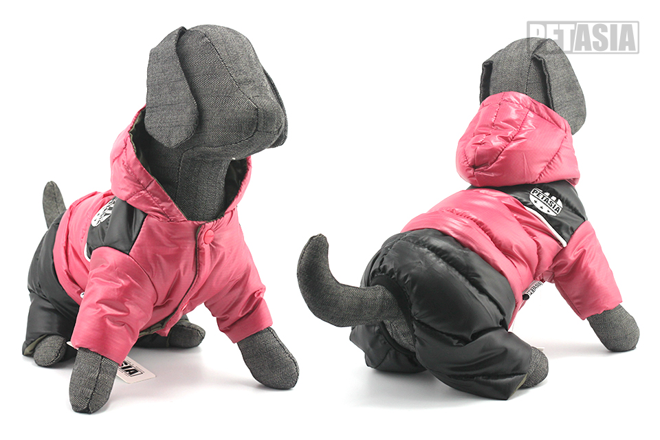 New Winter Dog Clothes Warm Pet Dog Winter Clothes Waterproof Coat Jacket Cotton Jumpsuit for Chihuahua Small Large Dogs PETASIA 609