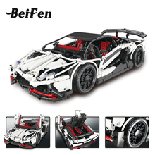 Technic Series the Hatchback Type R Set Building Blocks Bricks LegoINGlys Educational Toys Race Car Gift Technic lepine 23006(China)