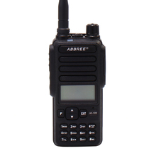 12W High power UHF 400-470mhz IP67 waterproof Walkie Talkie ABBREE two way raido