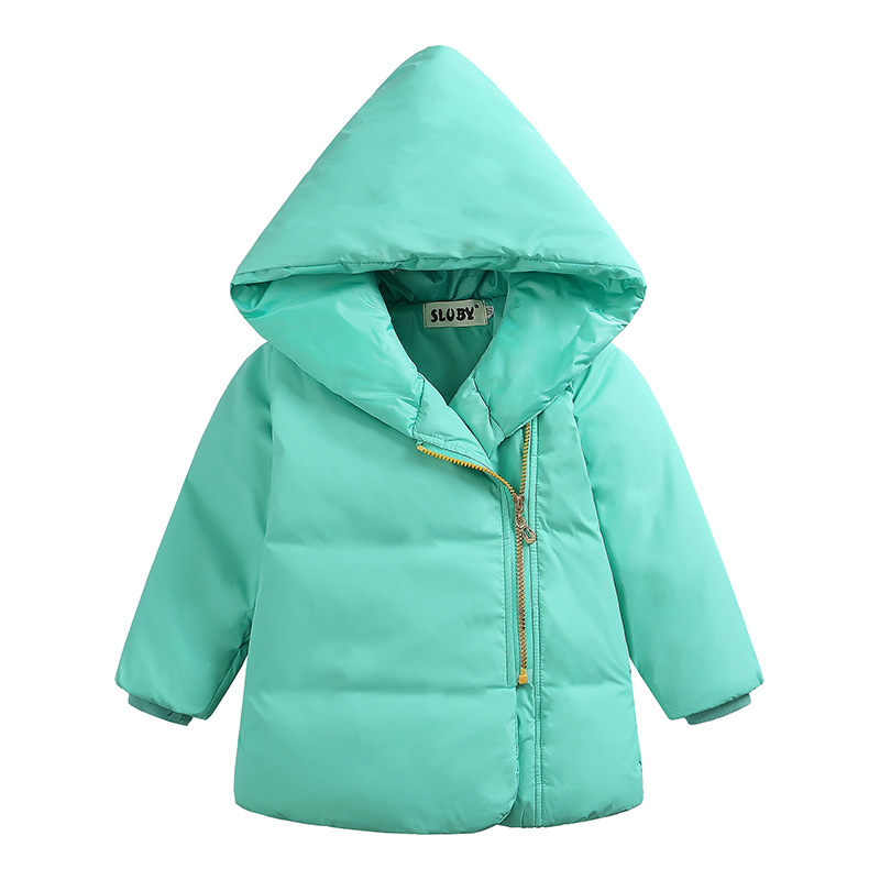 2017 New Winter Children Clothing Coat Boys&amp;Girls Hooded Coat Fashion Solid Color Thicken Down Jacket Children Clothes For MaleОдежда и ак�е��уары<br><br><br>Aliexpress