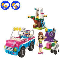 A TOY A DREAM Friends 10555 Olivias Expeditions Auto Car Toys DIY Building Brick Toys Girls Gift Compatible Lepinbela 41116
