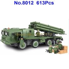 Winner 8012 613pcs Military series 300mm Rocket Missile Building Block Brick Toy