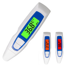 Medical Standard Non-contact Infrared Laser LCD electronic Ear Thermometer C/F Switchable Baby adult care Diagnostic-tool 40%off(China)