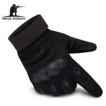 MEGE Tactical Full finger Airsoft gloves, Unisex Military Slip-resistant Combat Paintball gloves, Army Gloves(China)