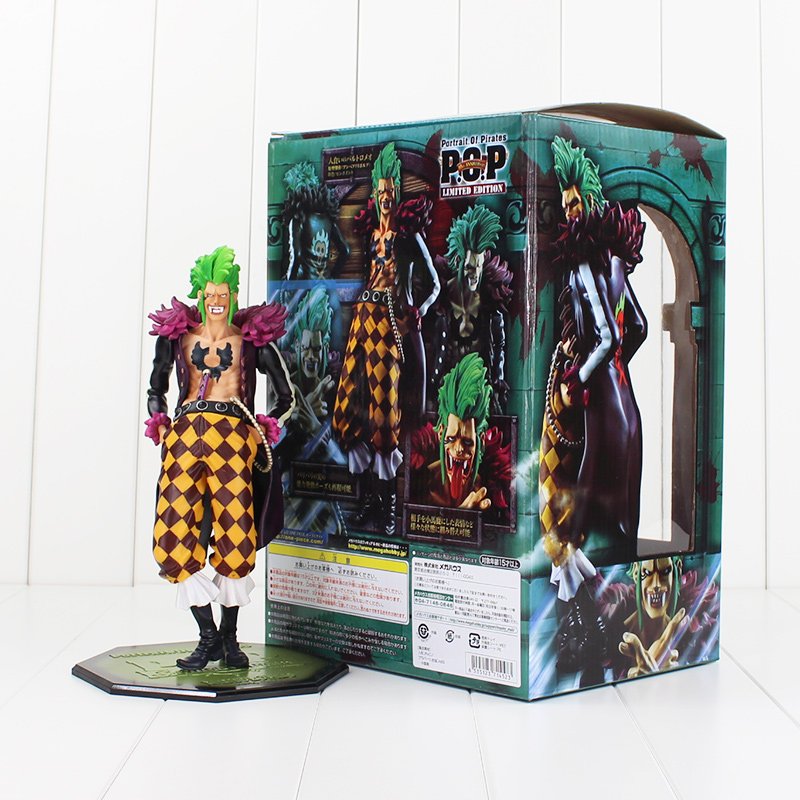 24cm High Quality One Piece Model Collection POP Crazy Fans of Straw Hat Bartolomeo Action Figure Barrier Cannibal Bartolomeo<br>