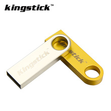 USB 2.0 U disk 32gb Kingstick Metal USB Flash Drive pen drive 64gb pendrive 16gb 8gb 4gb memoria usb stick freeshipping(China)