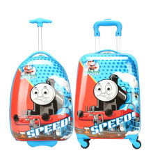 16'' 18'' Boys Thomas Train Design Luggage/Children Tomas School Bags With Wheels/Kids Cartoon Travel Suitcase Trolley Bags
