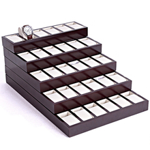 New large-capacity watch storage box / counter display box men and women watch display plate
