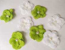 Simulation little pearl flower for corsage hat DIY clothes 5CM