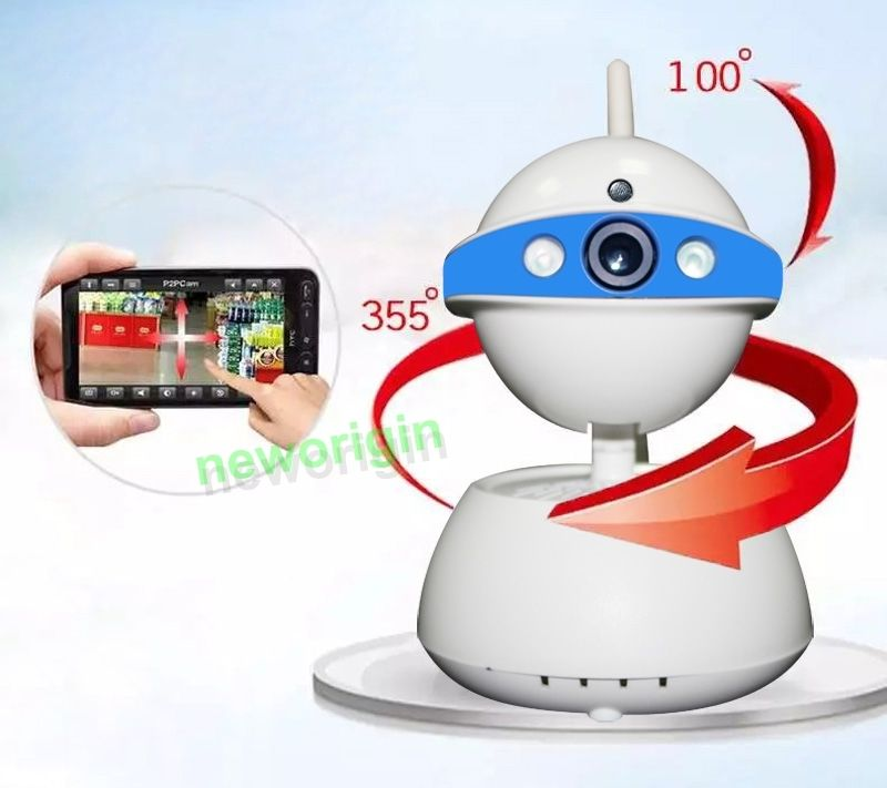 Woshijia 2017 Wireless WIFI Pan Tilt Security Network CCTV IP Camera IR Night Vision HD 720P Cartoon Robot Camara IP<br><br>Aliexpress